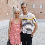 Soraya y Miguel Herrera en la segunda jornada de Madrid Fashion Show Men
