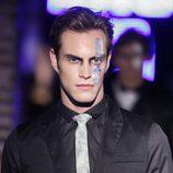 Miguel Herrera desfilando en la última jornada de la Madrid Fashion Show Men