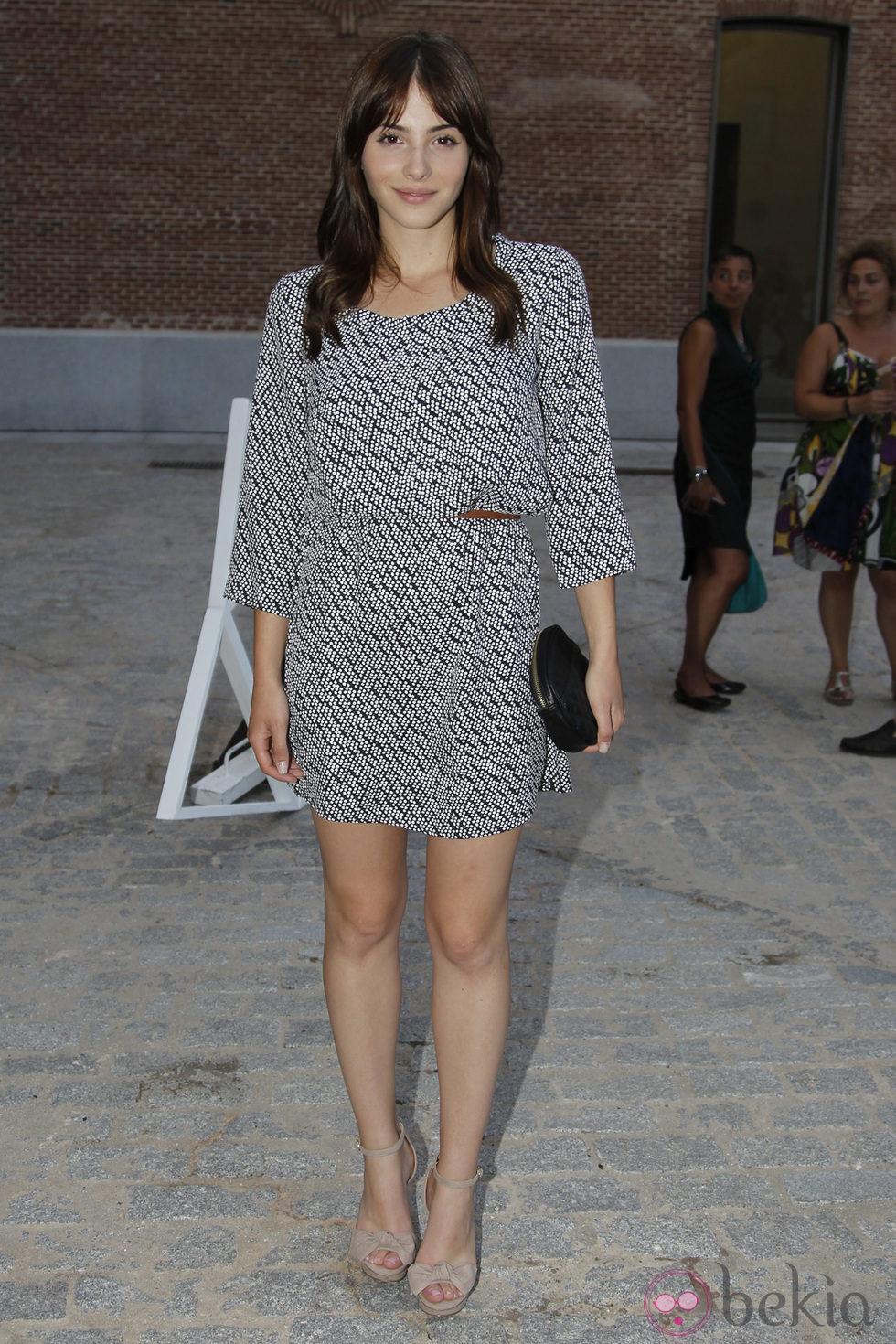 Andrea Duro Descuido andrea duro en la última jornada de la madrid fashion show
