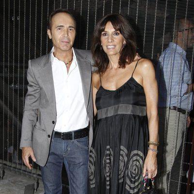 Juan Ribó y Pastora Vega en la última jornada de la Madrid Fashion Show Men