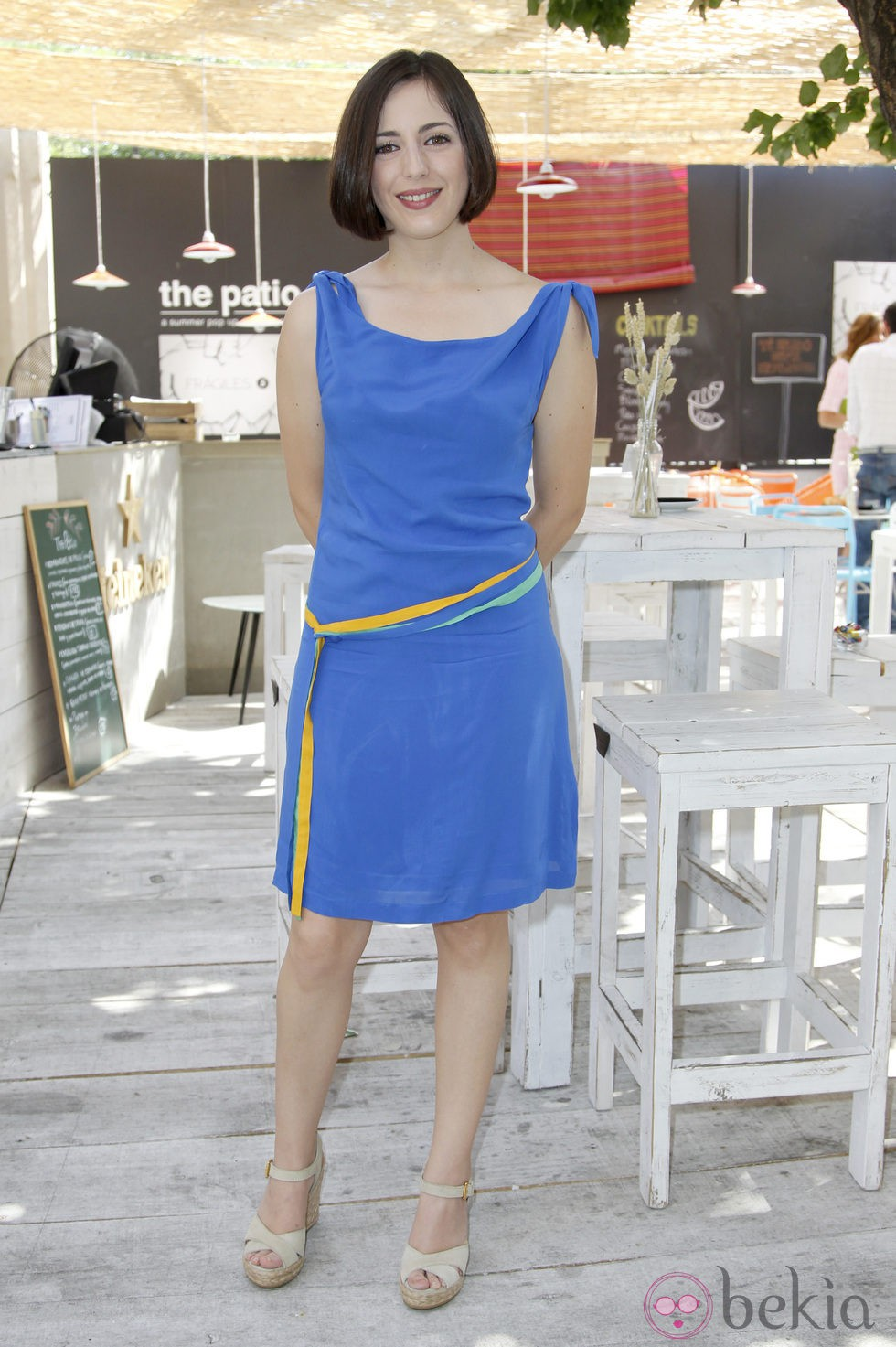 Ruth Núñez durante la presentación de la segunda temporada de 'Frágiles'