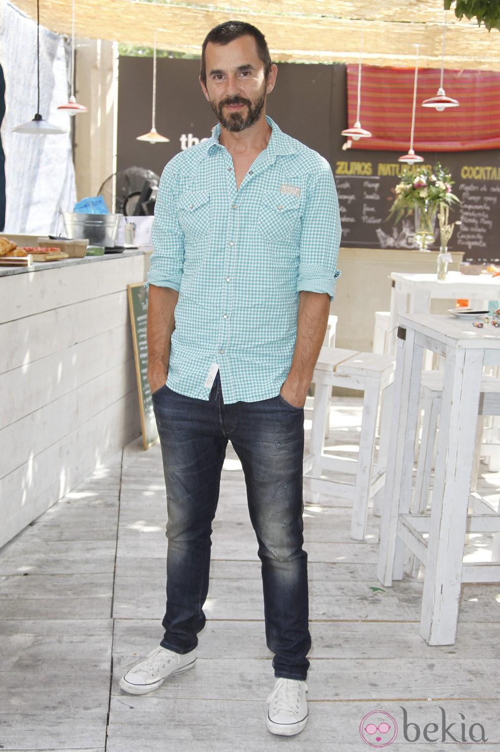 Santi Millán durante la presentación de la segunda temporada de 'Frágiles'