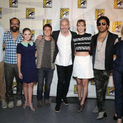 El reparto de 'Los Juegos del Hambre: En llamas' en la Comic-Con 2013