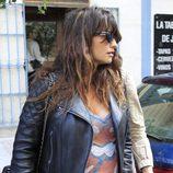 Penélope Cruz paseando embarazada por las calles de Madrid