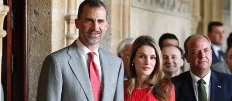 Los Príncipes de Asturias en la Reunión de directores de centros del Instituto Cervantes en Cáceres