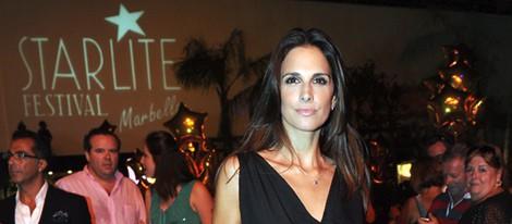 Nuria Fergó en la inauguración del Starlite Festival 2013