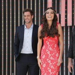 William Levy y Ximena Navarrete durante la premier de la telenovela 'La Tempestad' en Los Ángeles