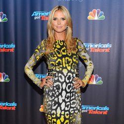 Heidi Klum durante el estreno de 'America's Got Talent' en Nueva York