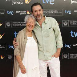 Asunción Balaguer y Ginés García Millán en la presentación del Festival de Cine de San Sebastián 2013