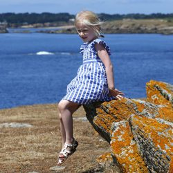 Leonor de Bélgica de vacaciones en Francia