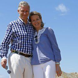 Felipe y Matilde de Bélgica en sus primeras vacaciones como Reyes