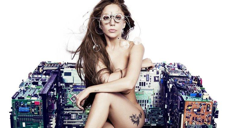 Lady Gaga en el photoshoot de 'ARTPOP'