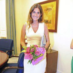Lourdes Montes en el pregón de la Feria Taurina de Málaga