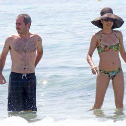 Jacobo Martos y Toni Acosta en Ibiza