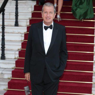 Mario Testino en 'El Baile del Amor' en Mónaco