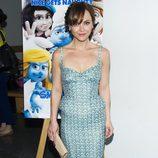 Christina Ricci en la premiere de 'Los Pitufos 2' en Los Angeles