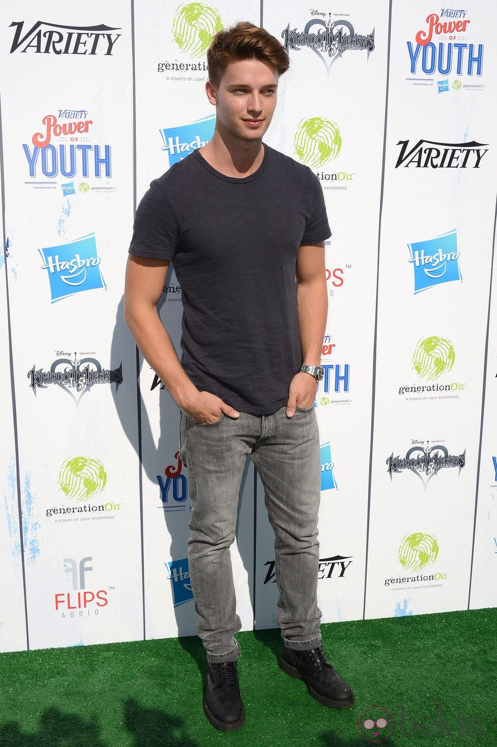 Patrick Schwarzenegger en el Power of Youth 2013