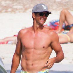 Fernando Verdasco con el torso desnudo en Formentera