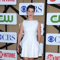 Cobie Smulders en la fiesta veraniega de CBS, Showtime y The CW 2013