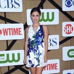 Rachel Bilson en la fiesta veraniega de CBS, Showtime y The CW 2013