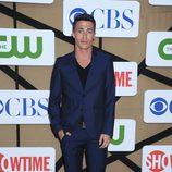 Colton Haynes en la fiesta veraniega de CBS, Showtime y The CW 2013