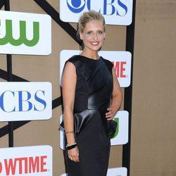 Sarah Michelle Gellar en la fiesta veraniega de CBS, Showtime y The CW 2013