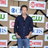David Duchovney en la fiesta veraniega de CBS, Showtime y The CW 2013