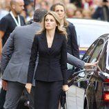 La Princesa Letizia en el funeral por las víctimas del tren de Santiago