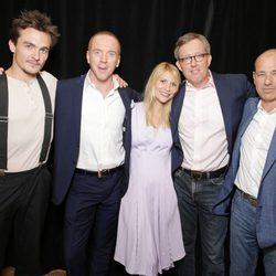 El equipo de 'Homeland' en la presentación de la tercera temporada