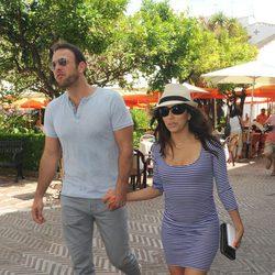 Eva Longoria y Ernesto Arguello en Marbella