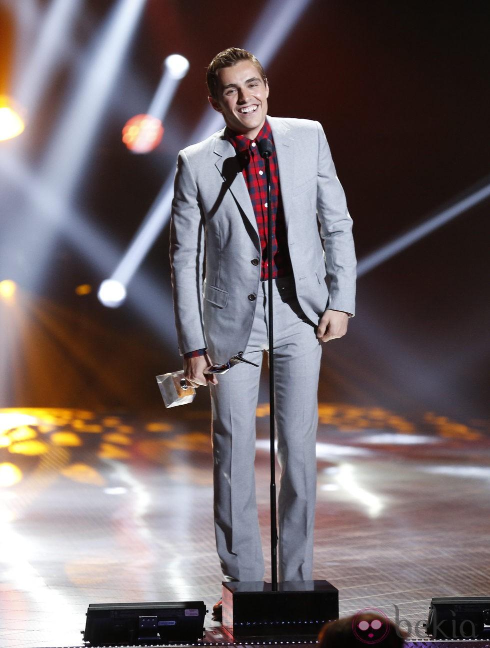 Dave Franco en los Premios Young Hollywood 2013