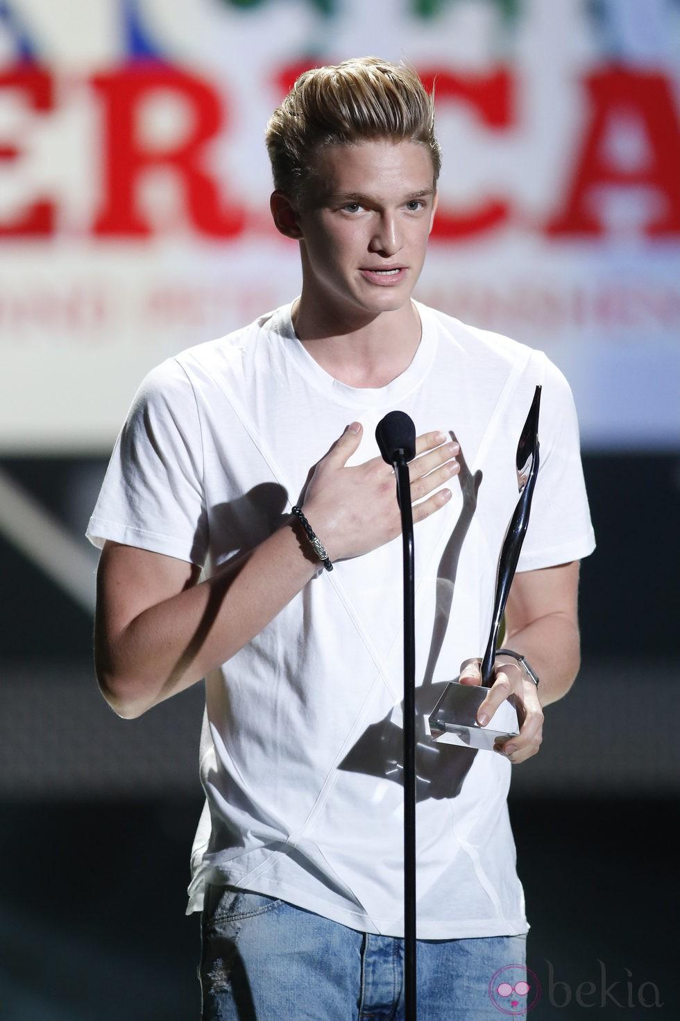 Cody Simpson en los Premios Young Hollywood 2013