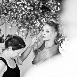 Uma Thurman en blanco y negro para el calendario de Campari 2014