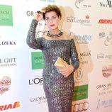Antonia Dell'Atte en la Global Gift Gala 2013 de Marbella