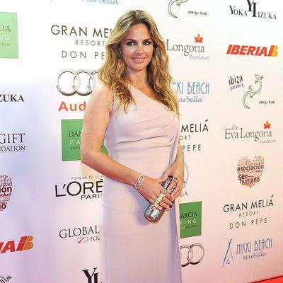 Genoveva Casanova en la Global Gift Gala 2013 de Marbella