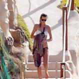 Toni Garrn disfruta del verano en Ibiza