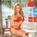 Ana Obregón posa en trikini