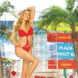 Ana Obregón posa muy sexy en trikini en Madrid