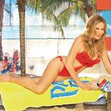 Ana Obregón posa en trikini en Madrid