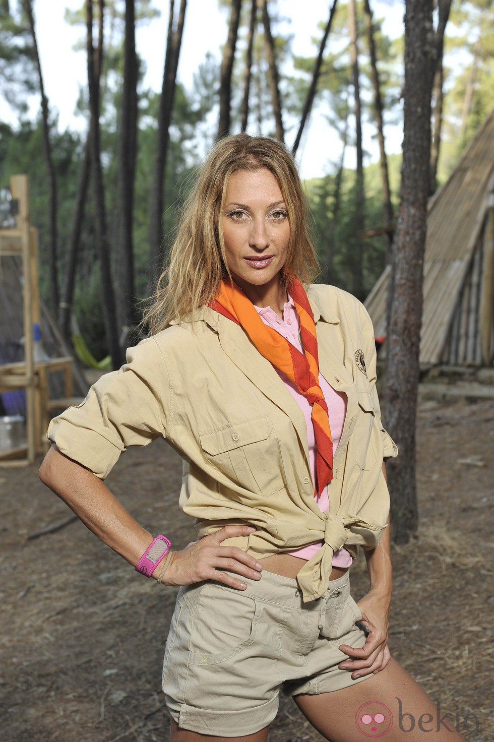 Mónica Pont en 'Campamento de verano'