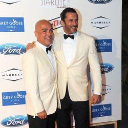 Kike Sarasola y Carlos Marrero en la Starlite Gala 2013