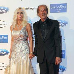 Gunilla von Bismarck y Luis Ortiz en la Starlite Gala 2013