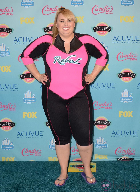 Rebel Wilson en los Teen Choice Awards 2013