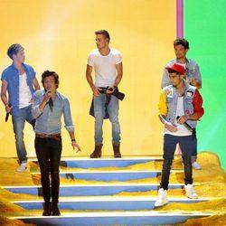 One Direction en los Teen Choice Awards 2013