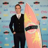 Jim Parsons premiado en los Teen Choice Awards 2013