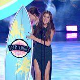 Selena Gomez premiada en los Teen Choice Awards 2013