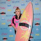 Rebel Wilson premiada en los Teen Choice Awards 2013
