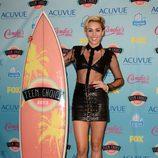 Miley Cyrus premiada en los Teen Choice Awards 2013