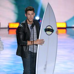Nick Jonas premiado en los Teen Choice Awards 2013
