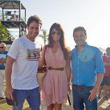 Álvaro Muñoz Escassi y Sonia Ferrer en el Torneo de Polo de Sotogrande